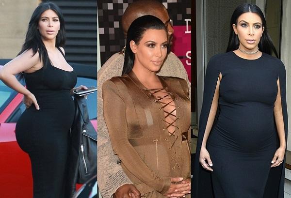ТОП-10 самых эффектных нарядов беременной Ким Кардашян