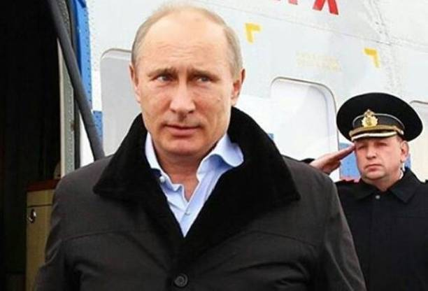 Владимир Путин покормил своего друга с руки