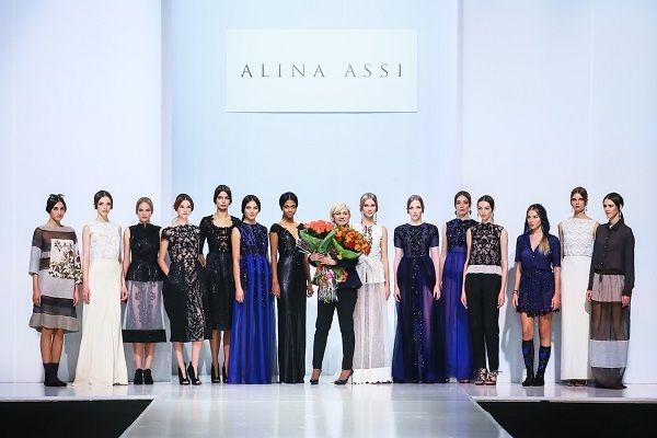Анастасия Михайлюта стала участницей показа ALINA ASSI