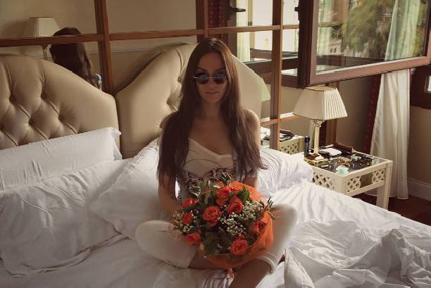 Алена Водонаева отпраздновала день рождения в Италии