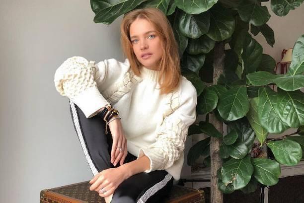 Наталья Водянова показала, как проводит выходные
