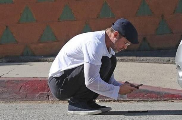 Брэд Питт наTelsa попал втройное ДТП