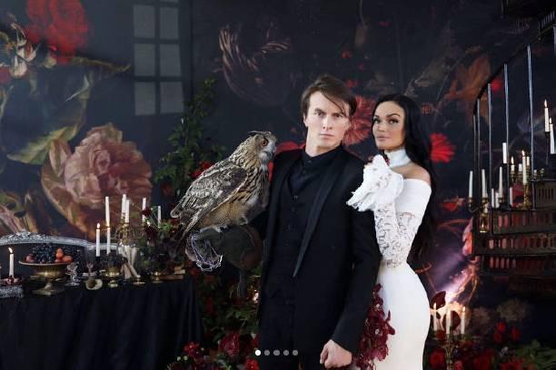 Алена Водонаева сыграла свадьбу