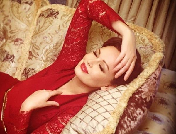 Ирина Безрукова пришла на вечеринку не одна