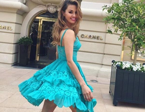 Виктория Боня приехала в Киев, чтобы открыть бутик и встретиться с фанатами