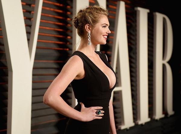Кейт Аптон поразила своим декольте гостей премии Оскар 2016