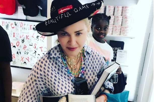 Мадонна опубликовала редкое фото своих детей