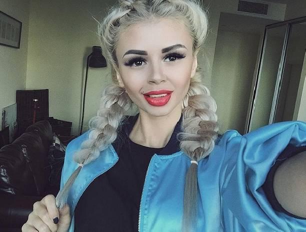Изменив цвет волос, Алёна Забалуева стала похожа на свою собачку