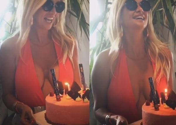 В сети появилось эротическое видео, сделанное в День Рождения Виктории Лопыревой