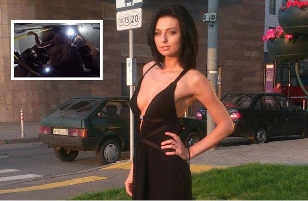 Участница Дом-2 Диана Чипизубова станцевала стриптиз в маршрутке
