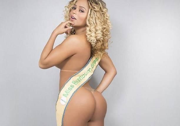 Победительница «Мисс Бум-Бум 2016» Эрика Канела устроила эротическую фотосессию