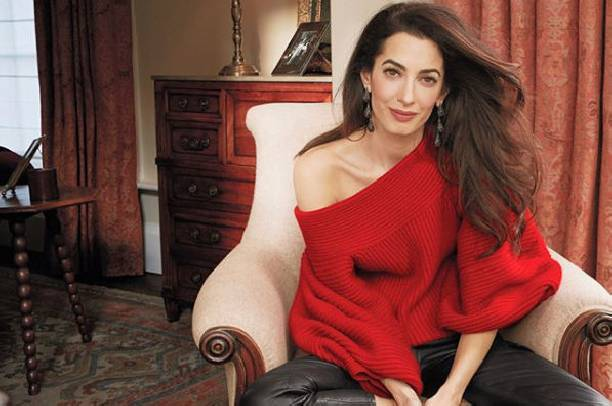 Амаль Клуни рассказала о сложностях воспитания двоих детей