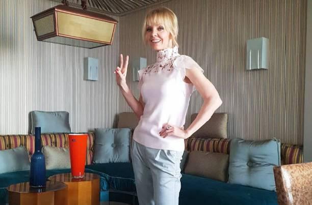 50-летняя Валерия не стесняется своего возраста