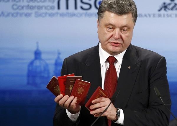 Петр Порошенко удалил позорную фотографию с Путиным