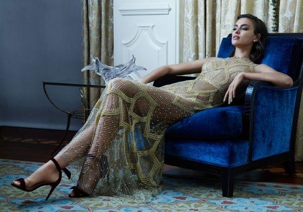 Ирина Шейк снялась для рекламы платьев бренда Davidson Zanine