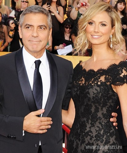 Представители Джорджа Клуни опровергли информацию о его расставании со Стейси Кейблер