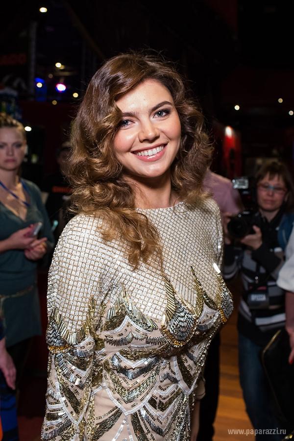 Алина Кабаева вышла в свет