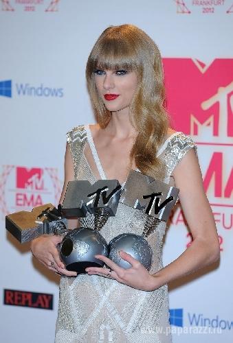 ПОБЕДИТЕЛИ MTV EMA 2012