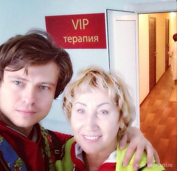 Прохор Шаляпин и Лариса Копенкина решили родить ребенка и для этого легли в специальную клинику