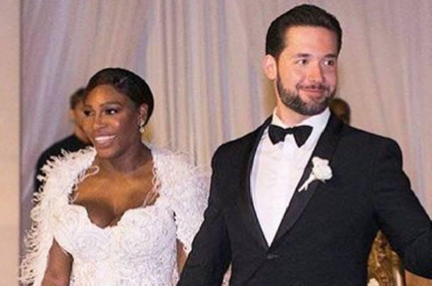 Серена Уильямс поделилась свадебными фотографиями