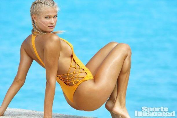 Спортивная фигура юной российской модели покорила мужской журнал