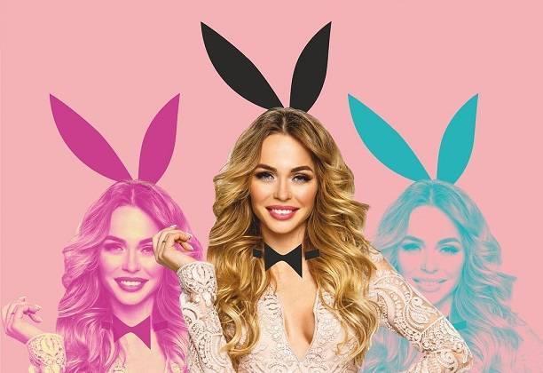 Анна Хилькевич зажгла на вечеринке Playboy в костюме сексуальной официантки