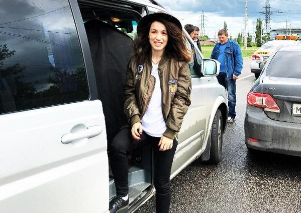 Поездка Виктории Дайнеко в Липецк обернулась авто-аварией