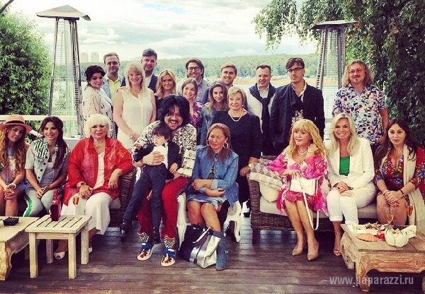 Филипп Киркоров пригласил на день рождения Мартина его брата близнеца