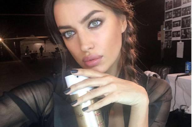 Ирина Шейк вышла на улицу без грамма макияжа
