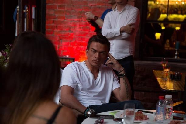 Влад Топалов расслабился на презентации клипа Дианы Ди