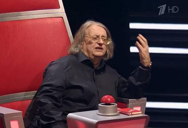 Александр Градский обматерил конкурсанта в эфире шоу «Голос»