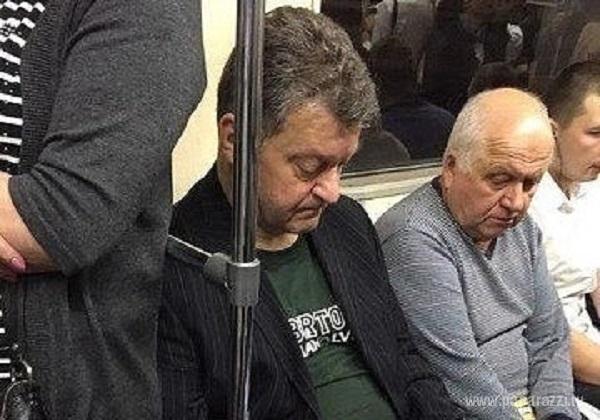 Знаменитые люди и политики катаются в метро