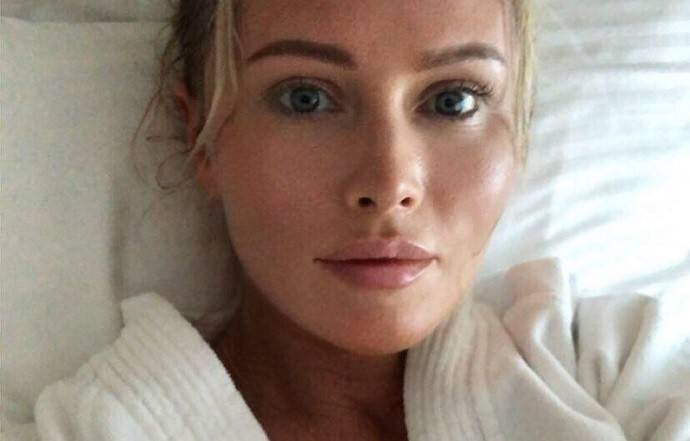 Дана Борисова накачала себе по бартеру губы