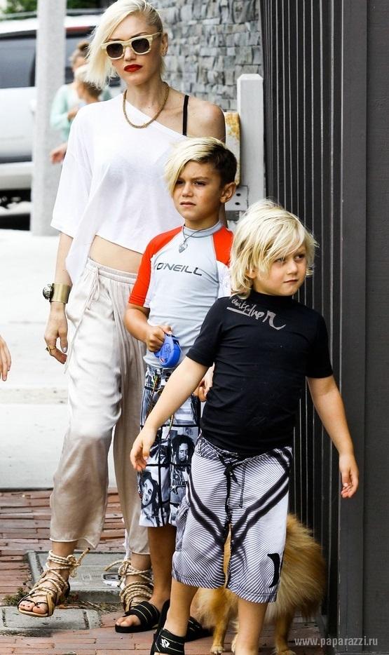 Сын Гвен Стефани вновь покрасил волосы