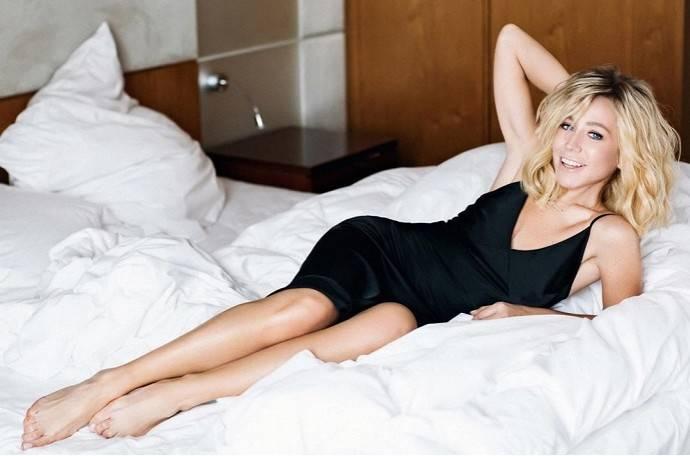 Юлии Барановской пришелся по душе её игривый сексуальный образ