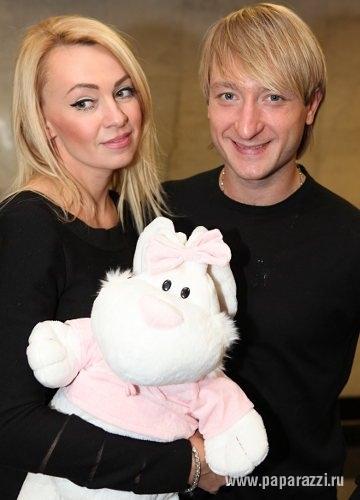 Евгений Плющенко и Яна Рудковская готовятся к крестинам сына