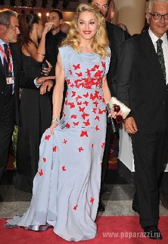 Мадонна сразила венецию роскошным