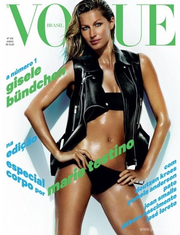 Жизель Бундхен разделась для модного издания Vogue
