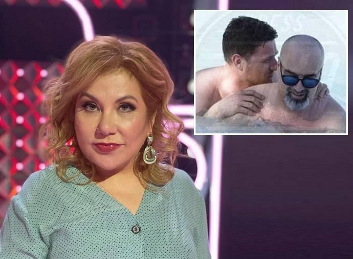 «Итальянцы все такие»: Марина Федункив попыталась оправдать нетрадиционные сексуальные наклонности своего итальянского мужа