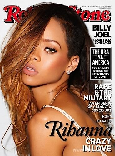 Певица Рианна появилась на обложке Rolling Stone