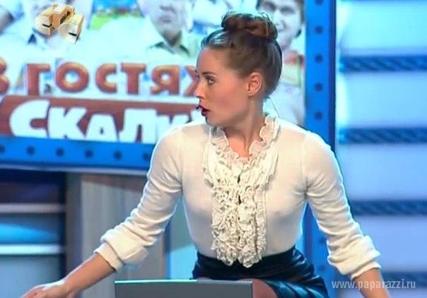 Юлия михалкова засветила трусики