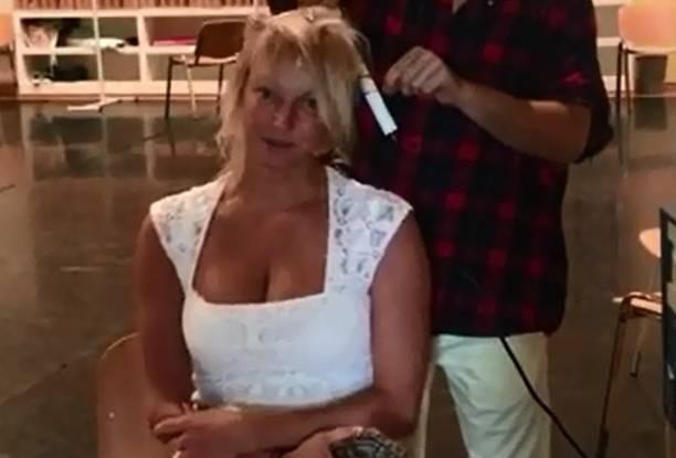 Анастасия Волочкова без косметики оказалась неузнаваема