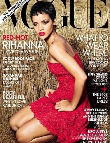 Певица Рианна рассказала о примирении с Крисом Брауном в Vogue