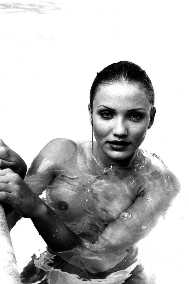Запрещенная к публикации фотосессия юной Камерон Диаз