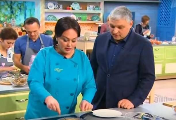 Лариса Гузеева приревновала мужа к участнице кулинарного шоу