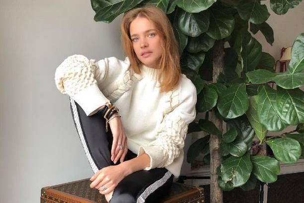 Наталья Водянова призналась, кто для нее является примером для подражания