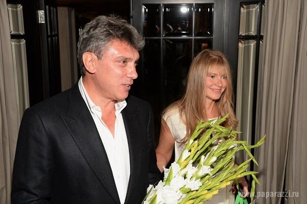 Борис Немцов вернулся к матери своего ребенка