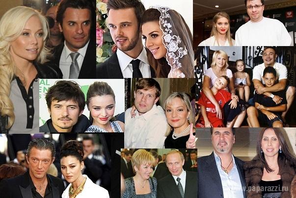 Лучшие семейные пары знаменитостей россии