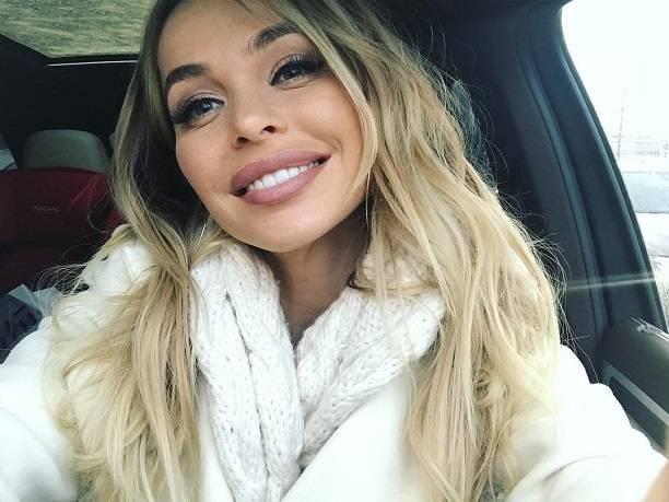 Анна Хилькевич сделала странный акцент на губах