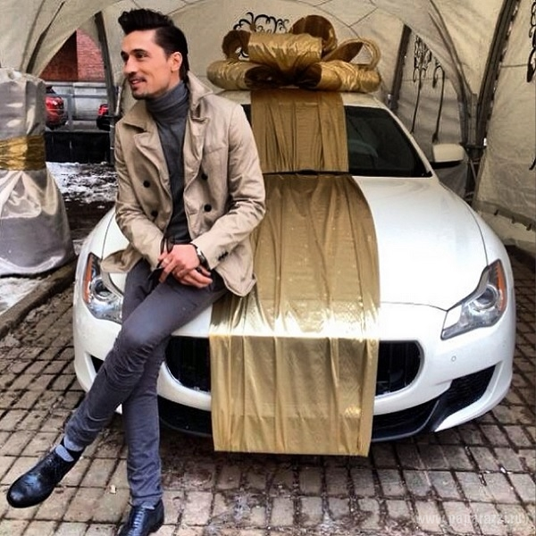Дима Билан получил граммофон и мазерати